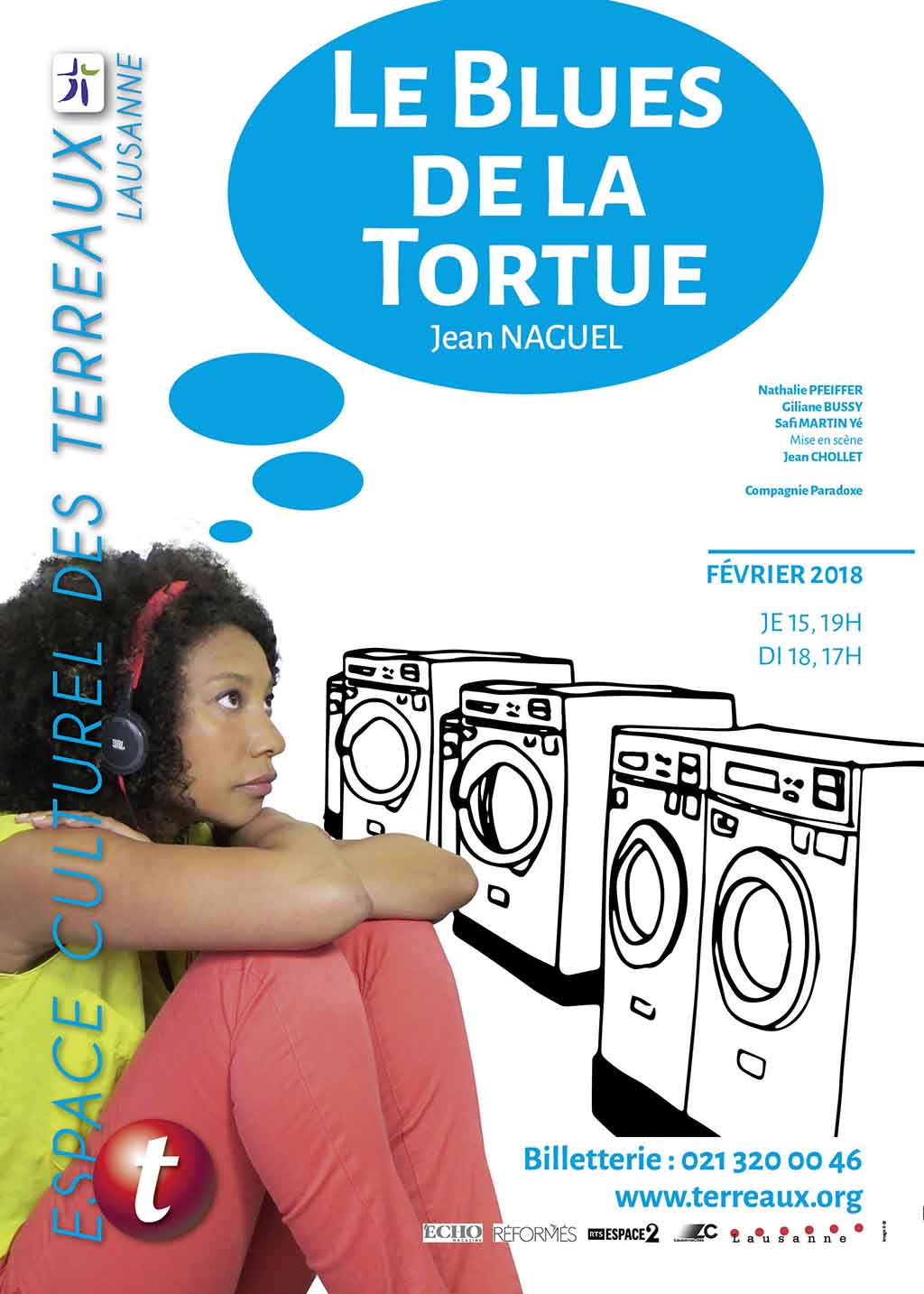 affichette Le blues de la Tortue