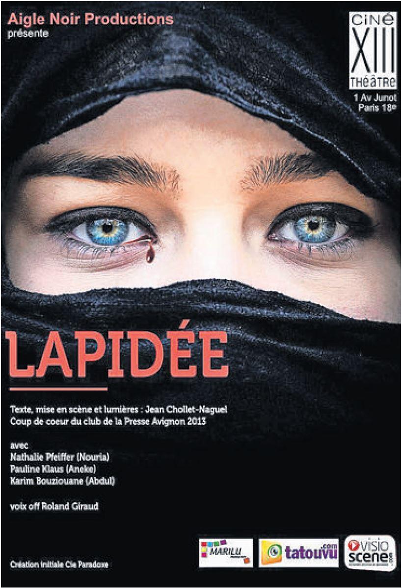 Affiche Lapidée