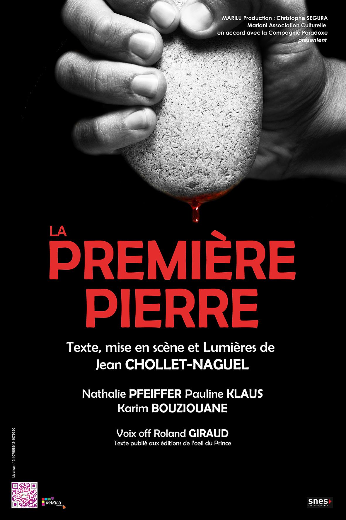 Affiche La Première Pierre