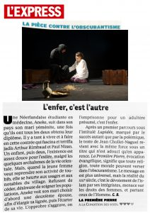 Art. in L'Express